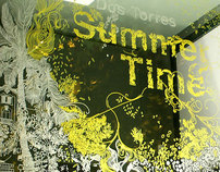 SUMMER TIME window painting