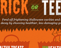Sunstar Trick or Teeth Infographic
