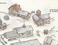 Map | Ten Chimneys Foundation