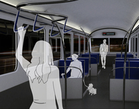 Dont Fall Miss | Ergonomic interior design of trams