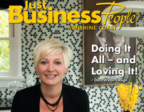 Just Business People - cover photos