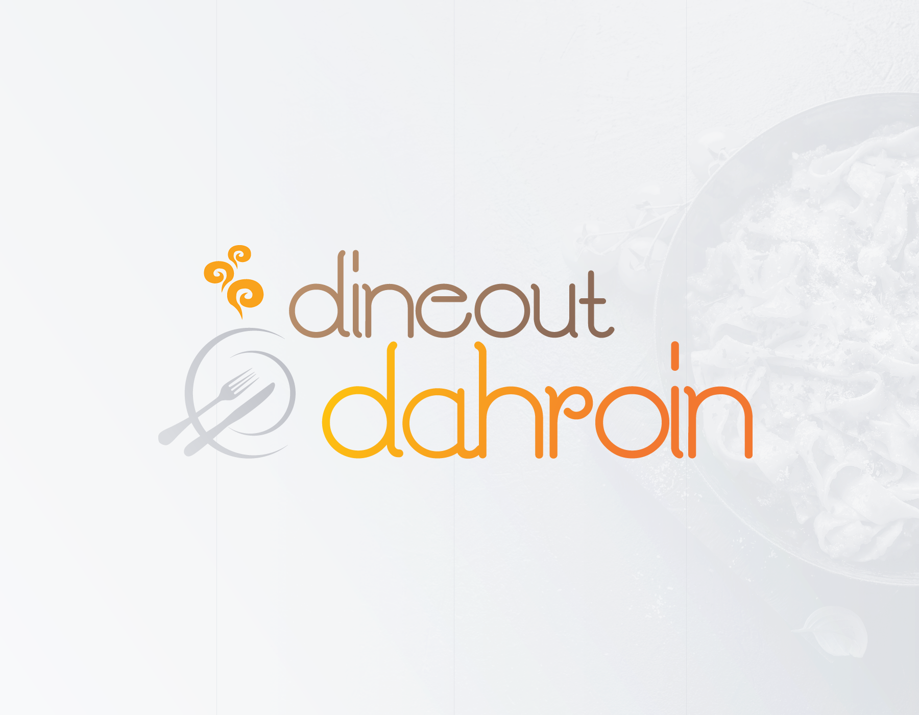 Dineout Dahroin - Logo to compete at a Contest