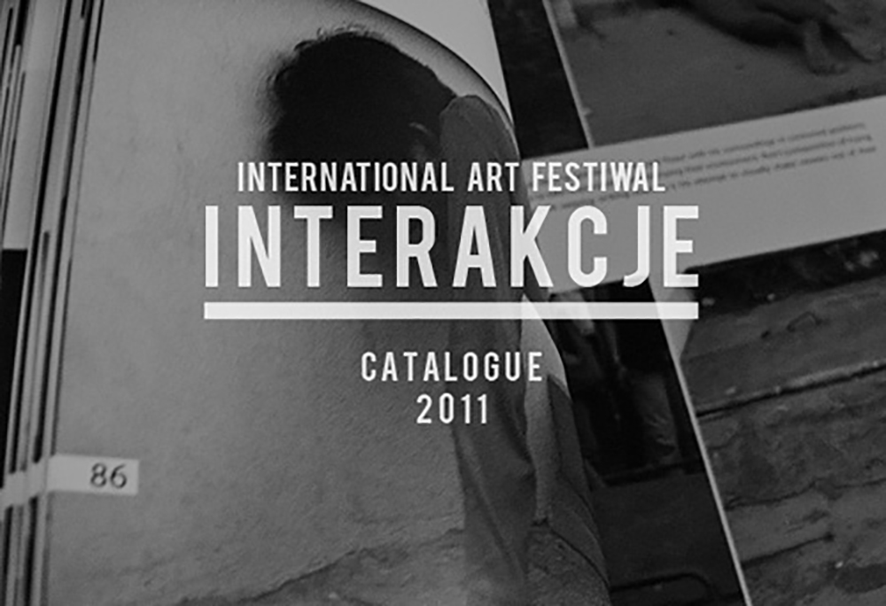 Interakcje 2011 // catalogue