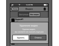 iOS/Android wireframes