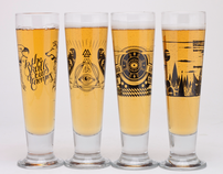 Skål Beer Glasses
