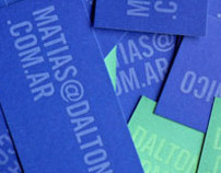 Daltonico / New Business Cards