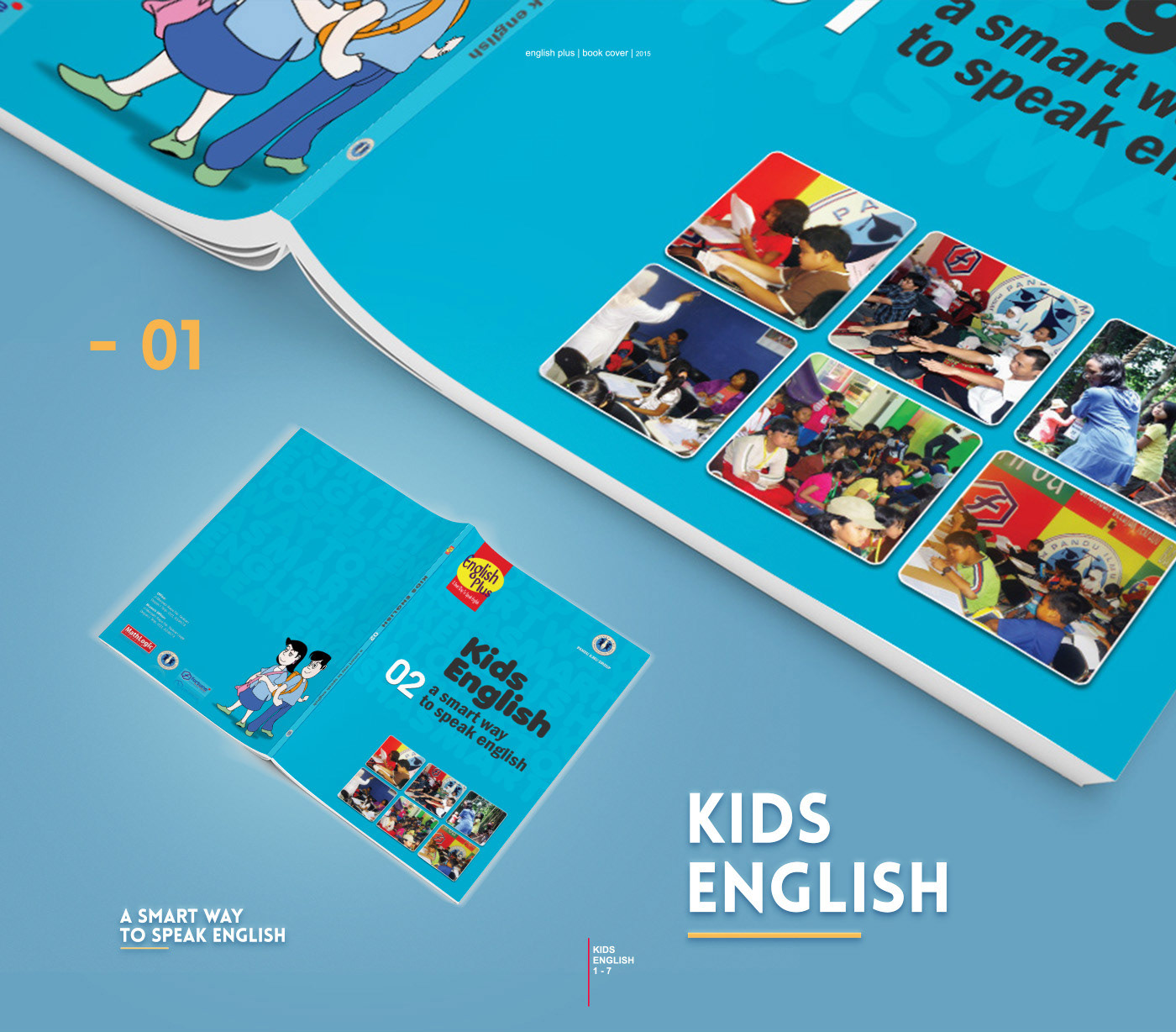 BOOK COVER DESIGN  ENGLISH PLUS