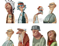 old bones characters