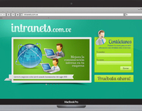 Web design Intranets.com.ve