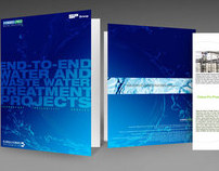 Brochure Design for Water Solution Proj. Eureka Forbes