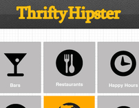 Thrifty Hipster Mobile Application