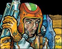 L'homme est-il Bon? - Moebius - Graphic Novel Cover