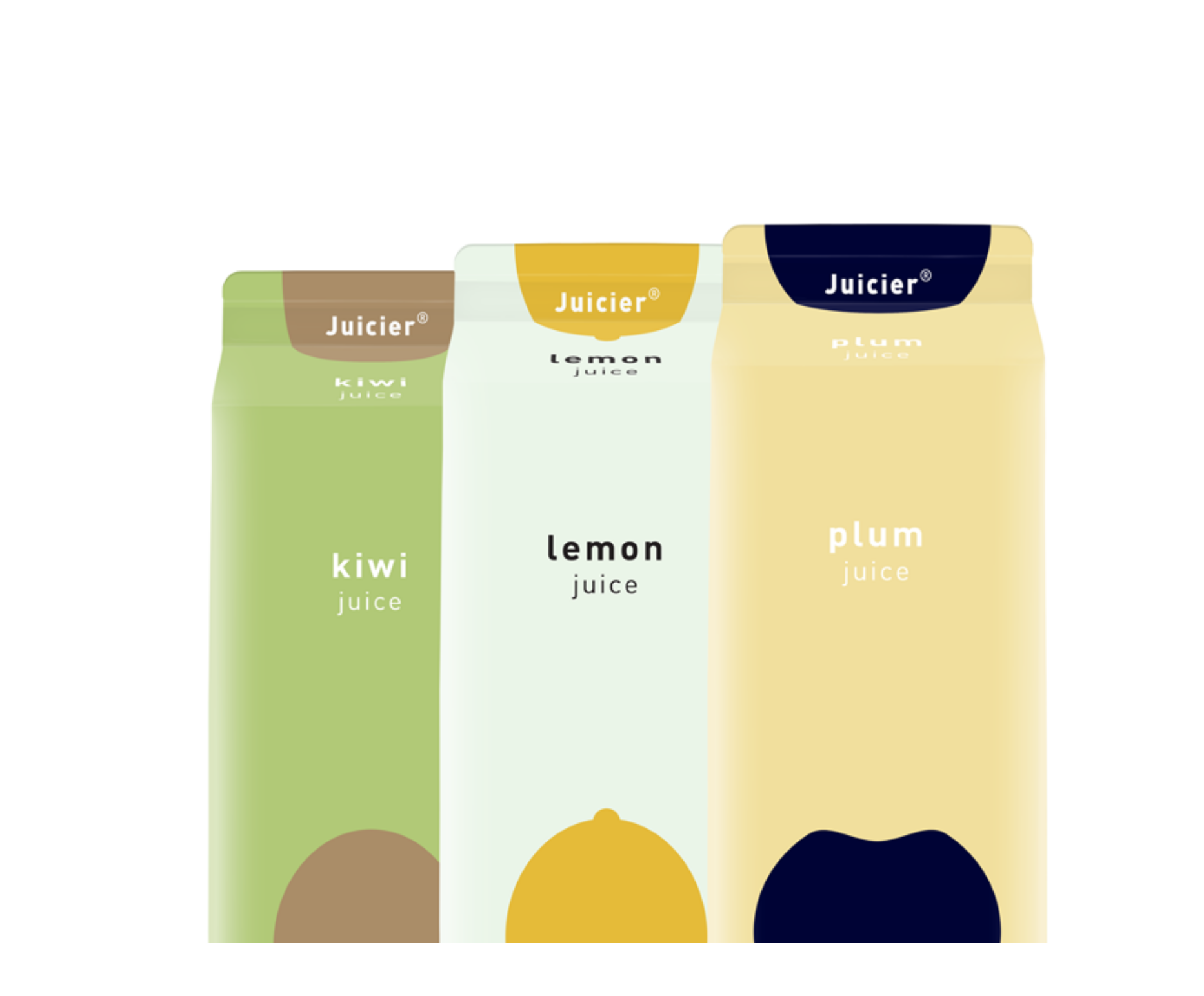 Jucier juice illustrations | Packaging