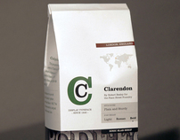Type Specimen: Clarendon Coffee Bag