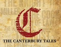 The Canterbury Tales Book Jacket