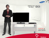 APP Bradesco na Smart Tv Samsung