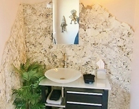 Inspired Powder Room
