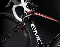 EMC Bikes - Bicycle Product Branding