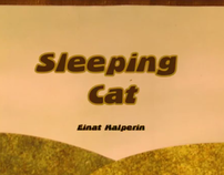 Sleeping cat - Cut out animation
