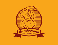 Mr. Sandwich Bakery / Corporate Identity