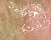 Just a carp drawing, really