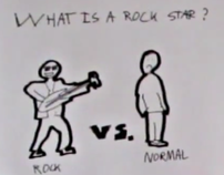 Concept Ad: Fly Like A Rock Star