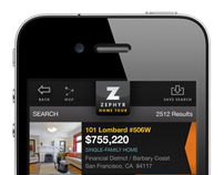 Zephyr Real Estate App - UX / UI