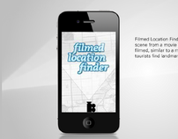 Filmed Location Finder - iPhone Application