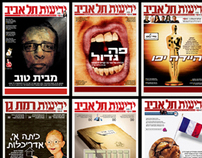 Yedioth Newspaper- Cover Page and Article Design