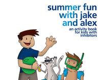 Summer Fun With Jake and Alex Childrens Book