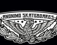 Anonimo Skateboards 1st Model