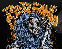 RED FANG Sabertooth TEE