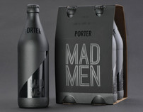 Mad Men Beer Packaging Design