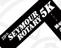 Seymour Rotary 5K Poster