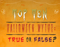 Top Ten Halloween Myths : True or False?