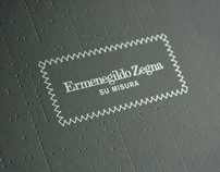 Zegna MTM AW08 Invitation