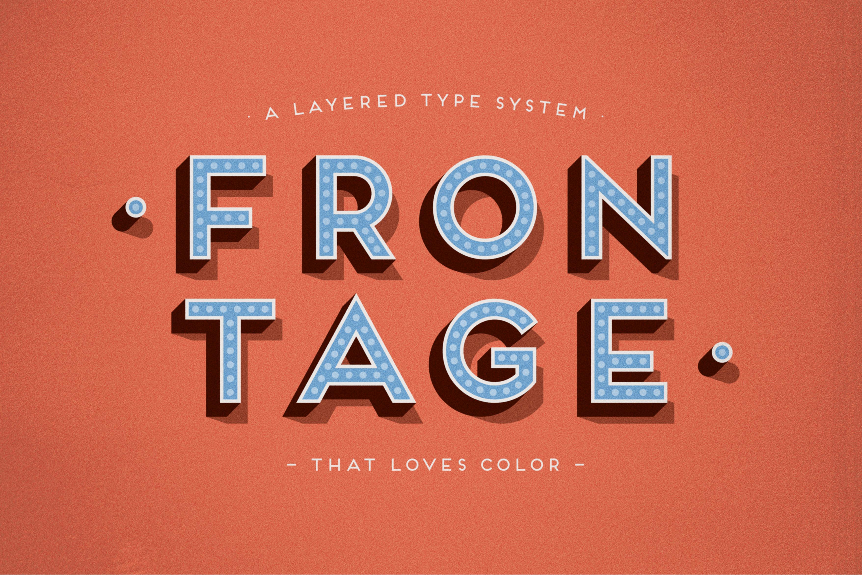Frontage Typeface +freefont