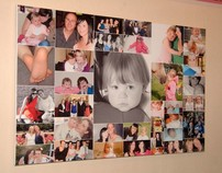 Collage Canvas Prints From £30 I only use 100% Cotton