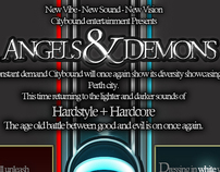Angels & Demons Event Poster