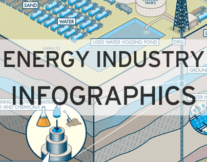 Energy Industry Infographic Design
