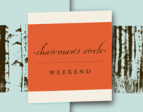 Chairman's Circle Weekend Event Branding
