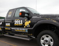 Super Duty Truck Wrap