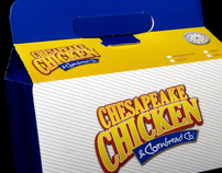 Chesapeake Chicken Package Design