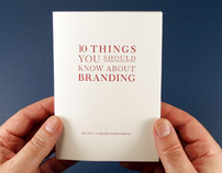 10 Things You Should Know About Branding