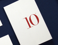 10 Associates new stationery