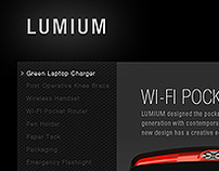 LUMIUM Web Design