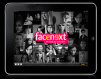 Facenext - GUI Design