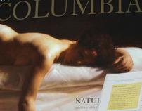 Columbia Magazine Spread