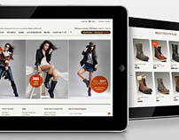 Jumbo UGG. Website Design