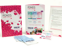 Ponds POS Mailer 2009 Package Design Award Winner